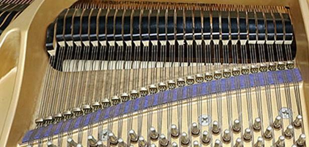 Agraffes grand piano kawai kg-3e