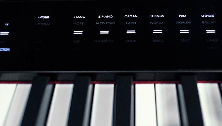Tùy chọn âm thanh Casio PX-S3000