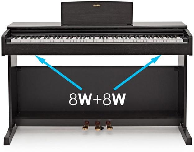 cong suat loa dan piano yamaha ydp 144