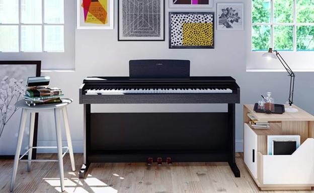 dan piano dien yamaha ydp 144 giao nha khach hang