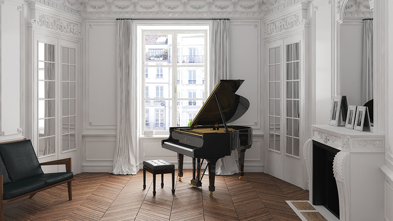 piano Steinway-Sons-S-155
