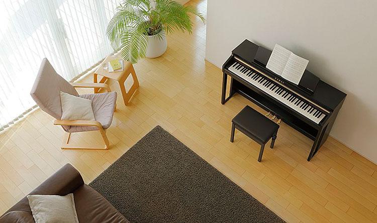 dan piano Kawai CA 48
