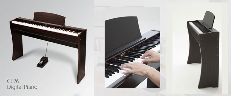 dan piano dien kawai cl26