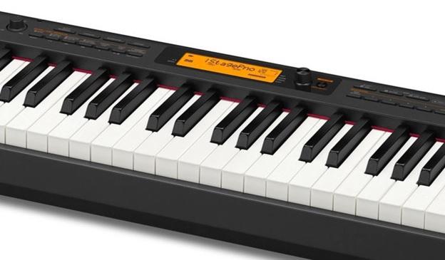 man hinh lcd co den nen cua dan piano casio cdp-s350