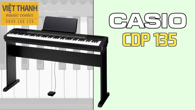 piano dien casio cdp 135