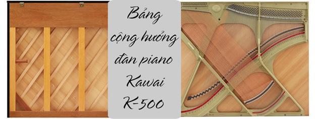 bang cong huong piano kawai k500