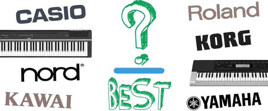 Đánh giá các thương hiệu piano và keyboard tốt nhất hiện nay
