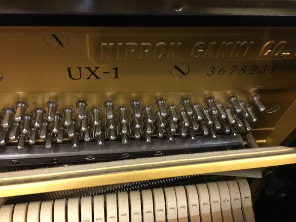 Số series trên đàn UX1