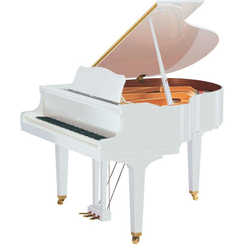 grand piano yamaha gb1k màu trắng
