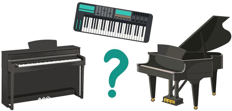 lựa chọn nhạc cụ phù hợp