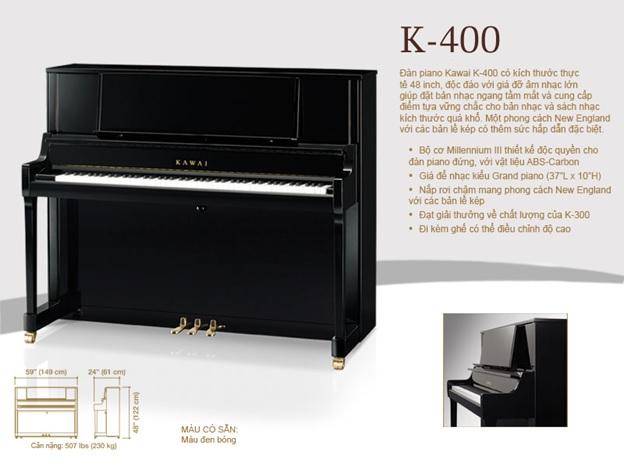 piano co kawai k-400