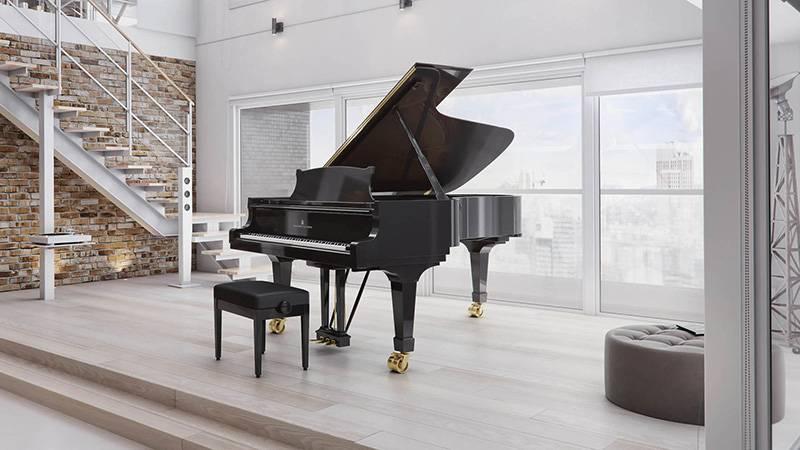 dan piano Steinway-Sons-C-227
