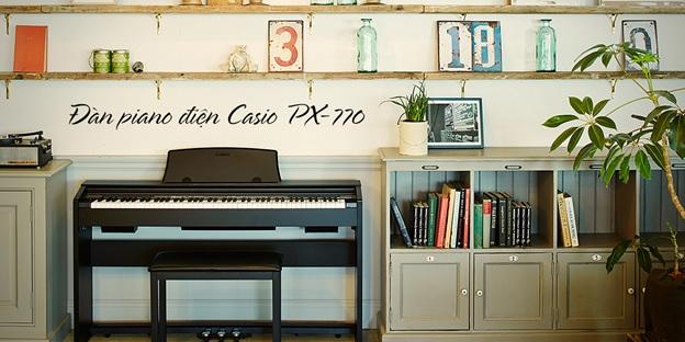 piano casio px 770