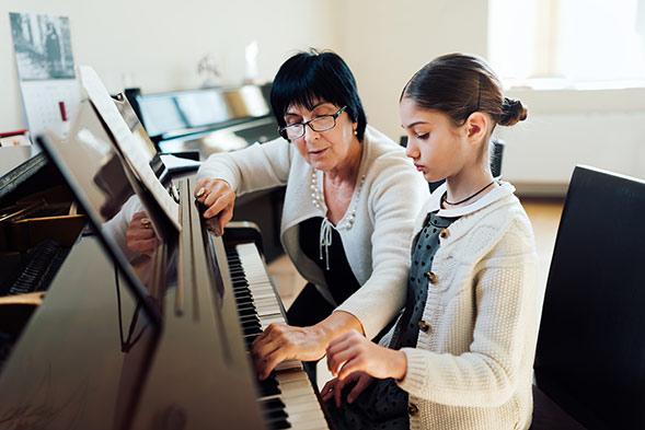 hoc piano