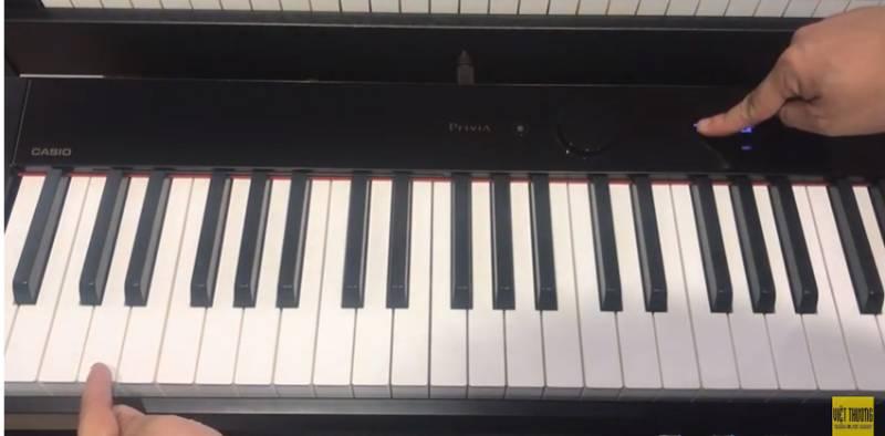 huong dan ket noi bluetooth tren piano dien casio px s1000