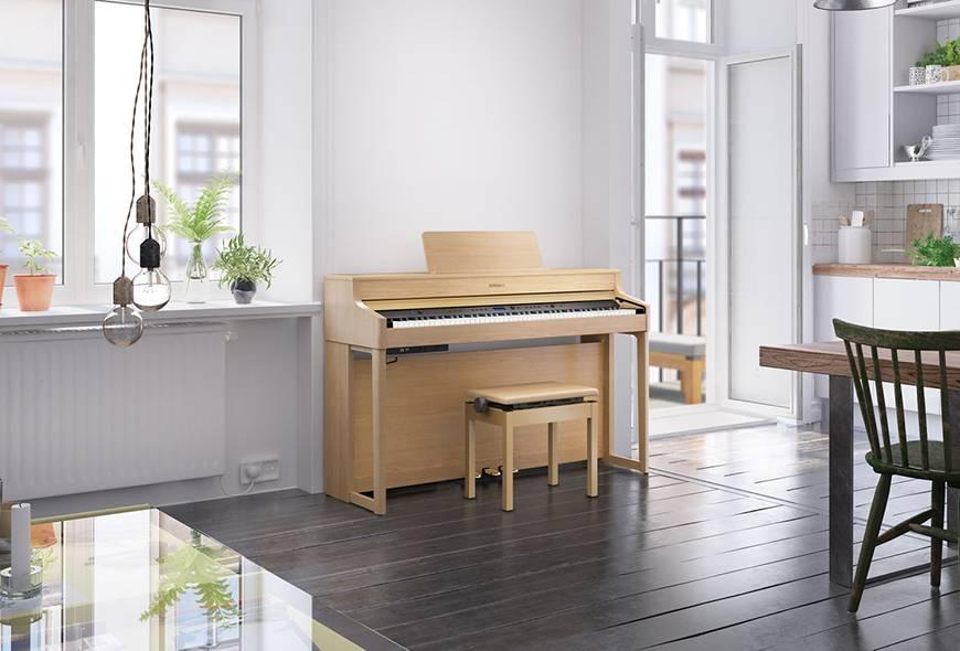 Đánh giá đàn piano điện Roland HP-700 Series