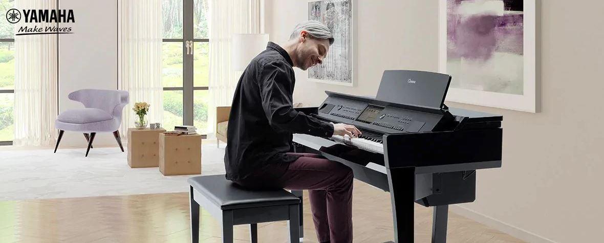 Đàn piano điện Yamaha dòng CVP series 8 vượt trội hơn series 7 thế nào?
