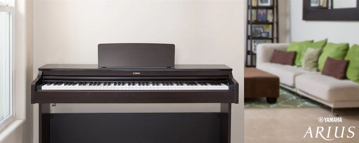 dong dan piano dien yamaha Arius