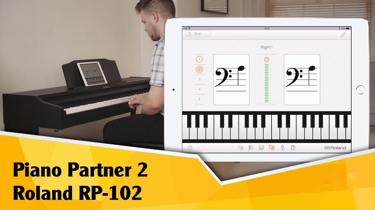 Đàn piano điện Roland RP 102 - 4