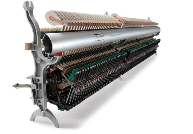 Bộ máy chất liệu ABS-carbon Kawai K seri - nhaccuvietthanh.com