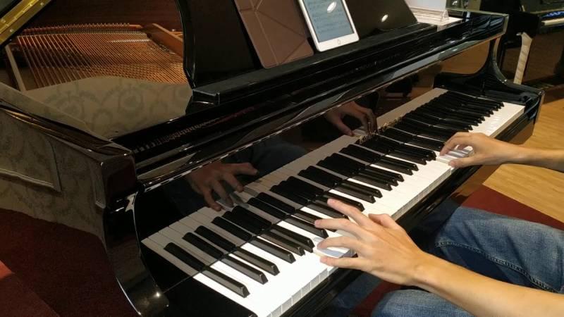 dan piano grand dang nho