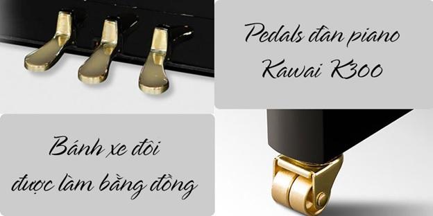 pedal dan piano kawai k300