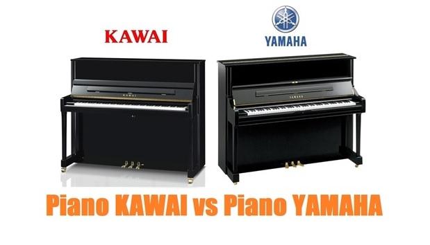 so sanh piano cu kawai voi dan piano cuyamaha