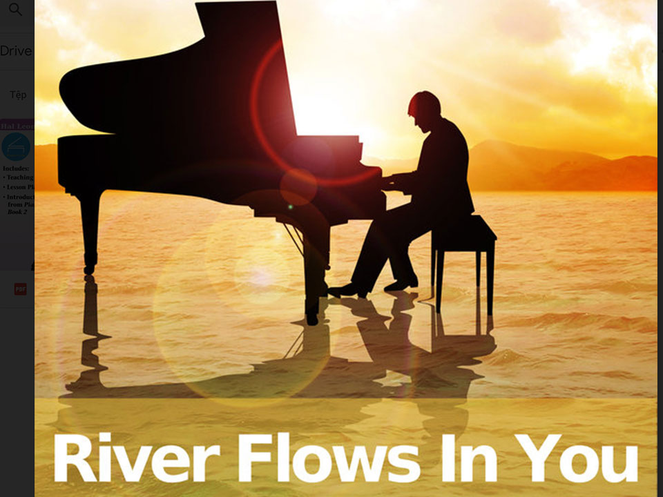Sheet piano River Flows In You