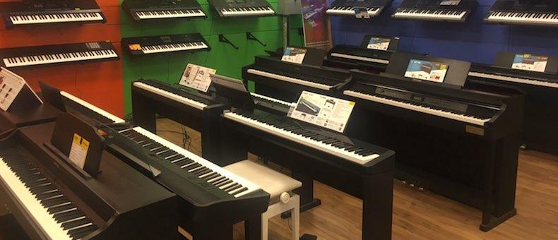 Các hãng đàn piano điện được ưa chuộng trên thế giới
