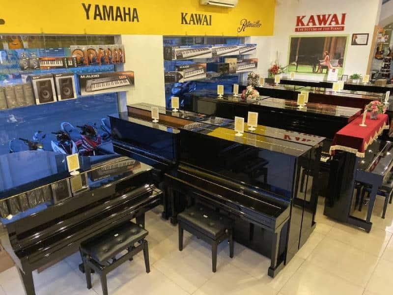 Nên mua đàn piano cơ cũ ở đâu cho người yêu đàn tại Vũng Tàu