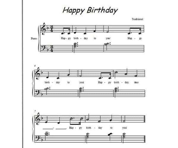 Những bản nhạc piano cho người mới học