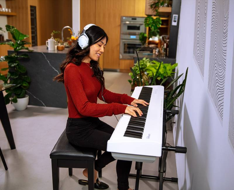 luyen tap piano tai nha voi piano dien roland fp-30x