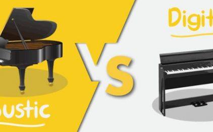 Ưa điểm của đàn piano acoustic và đàn piano điện