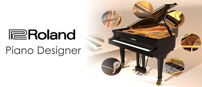 Piano Designer của Roland