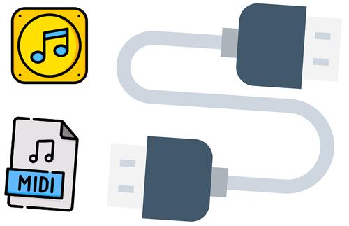 Giao diện âm thanh MIDI USB