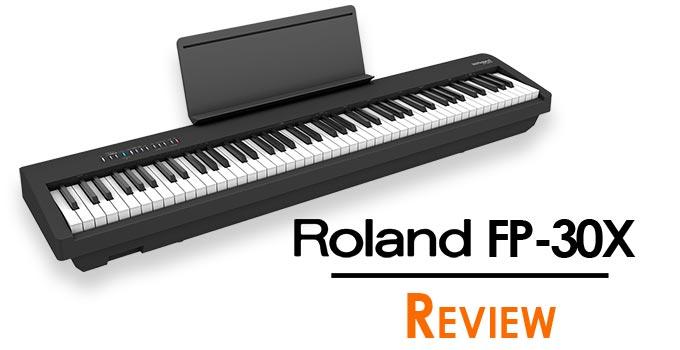 đánh giá piano roland fp-30x