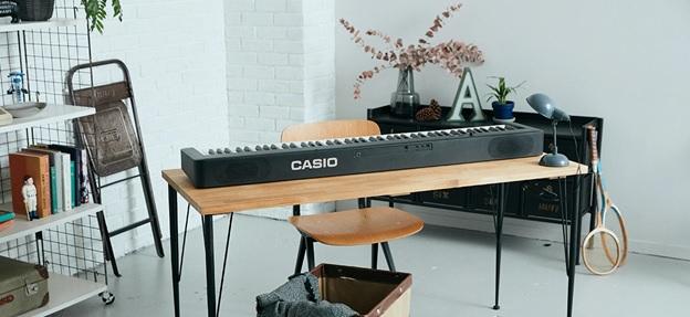 bàn phím Scaled Hammer Action Keyboard Ⅱ trên piano casio cdp s160