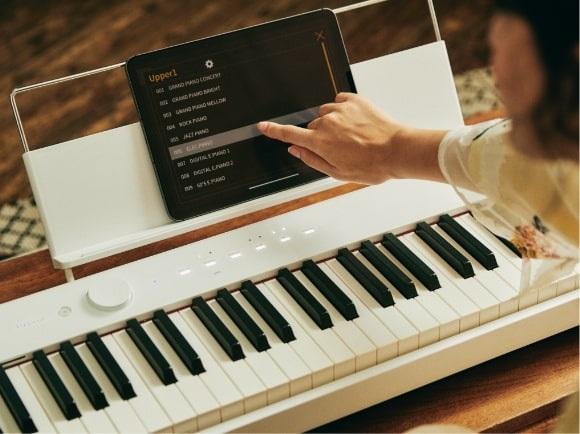 chon am thanh tren dan piano dien casio px-s1100