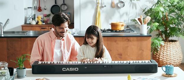 đàn piano điện casio cdp-s160 phù hợp cho trẻ em
