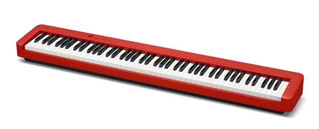 đàn piano điện casio cdp s160 màu đỏ