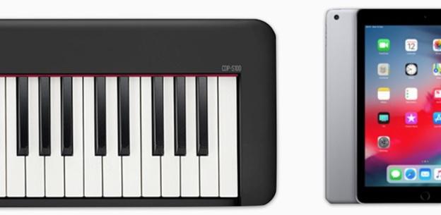 piano casio cdp s160 kết nối với ứng dụng Chordana Play for Piano