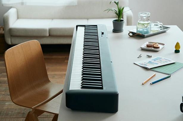 thiết kế đơn giản của piano điện casio cdp s160