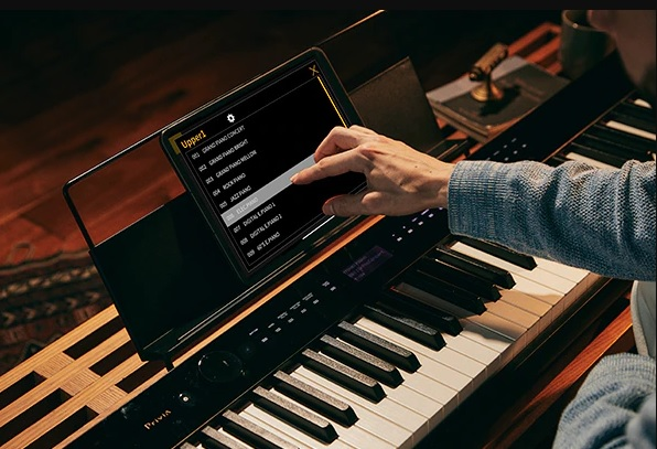 ung dung Chordana Play for Piano dan casio px-s3100